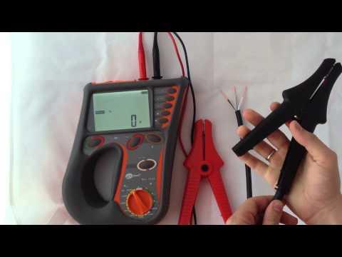 видео: mic-2510 Измеритель параметров электроизоляции