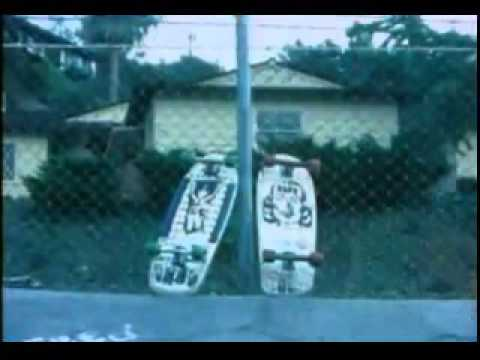 Vintage Black Flag Skateboards 1980s Advert / Commercial Ray
