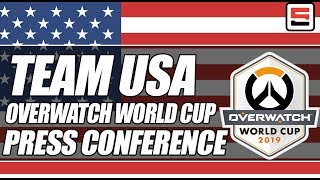 BlizzCon: Team USA Overwatch World Cup press conference | ESPN Esports