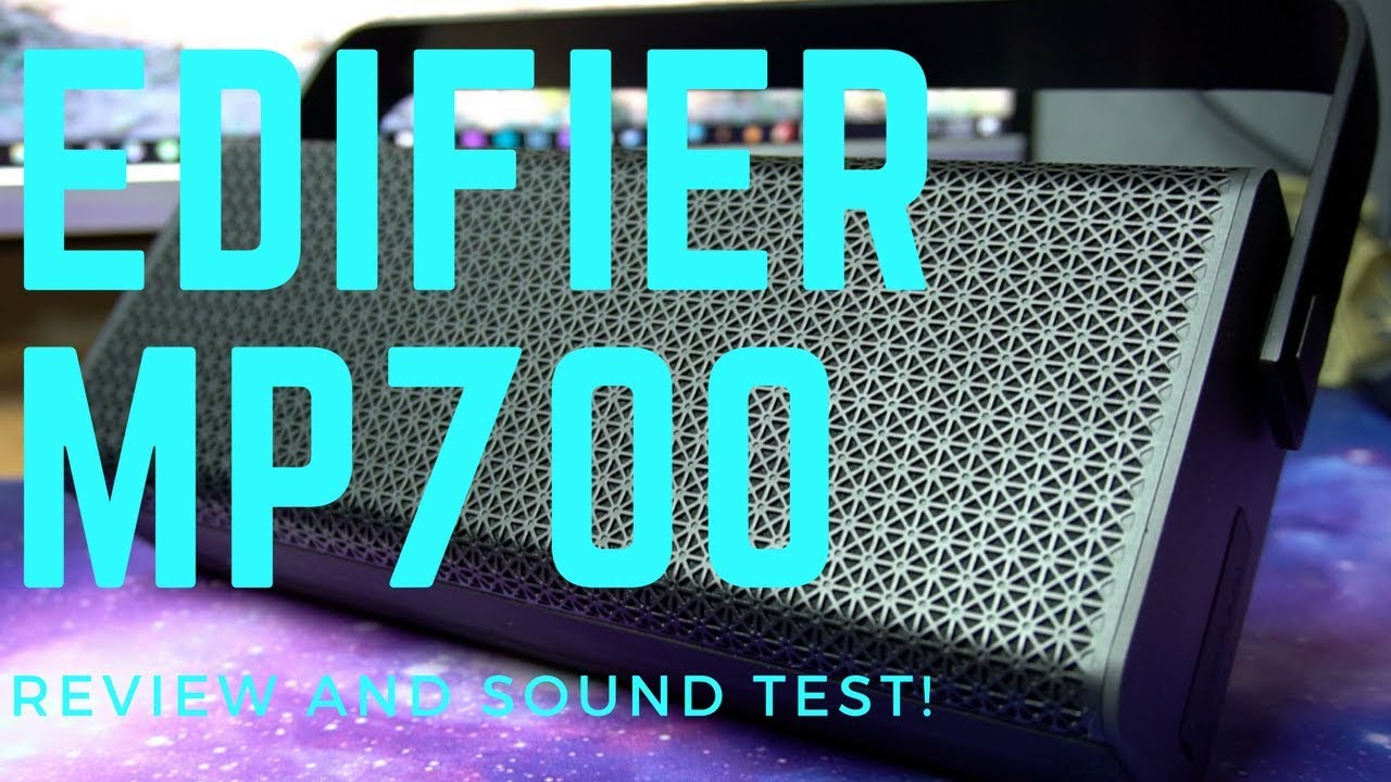Edifier MP700 Bluetooth Speaker Review and Sound Test! by Dragon Blogger  Technology and Entertainment