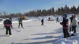 Polar Pond Hockey Winners Hay River NT 2013