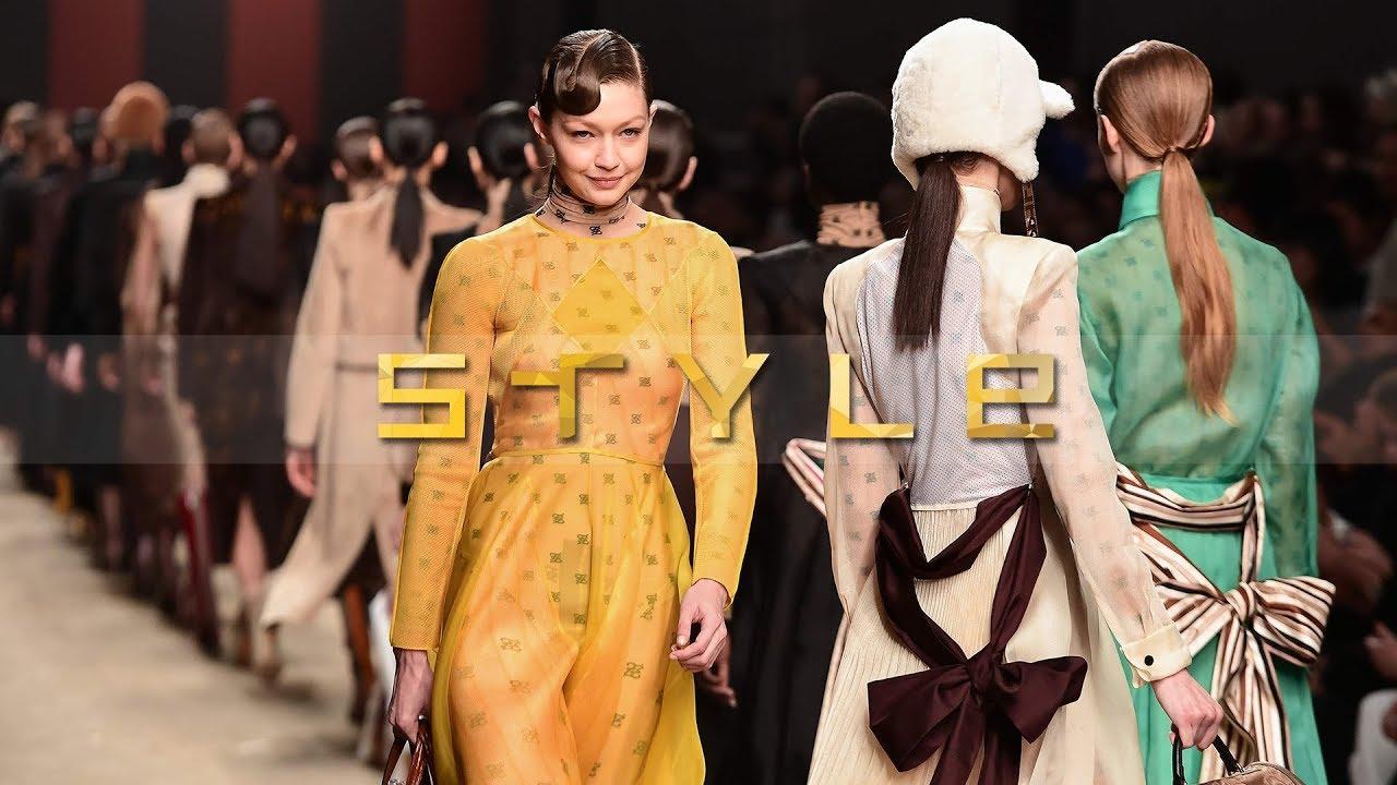 Karl Lagerfeld\u0027s last Fendi Show at Milan Fashion week 2019