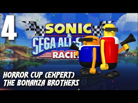 Sonic and Sega All-Stars Racing - Horror Cup (Bonanza Bros)