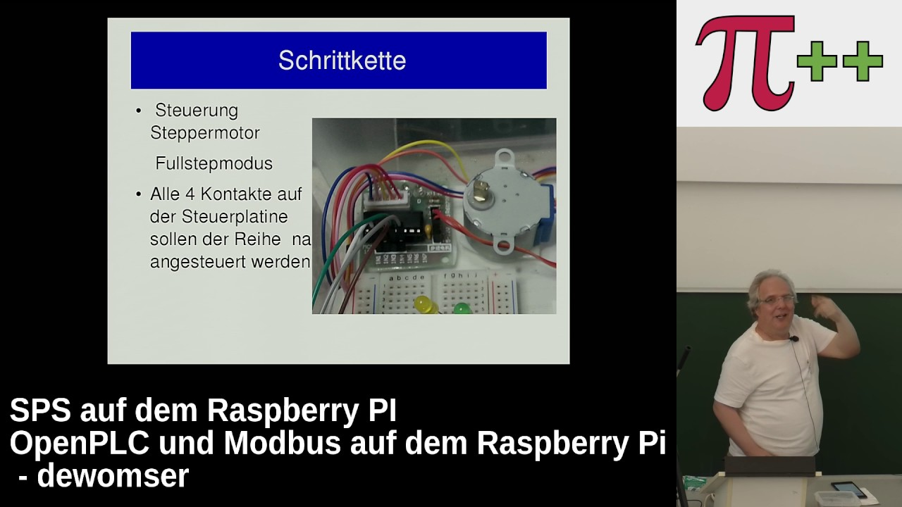 SPS auf dem Raspberry PI – Pi and More 10 - Uni Trier - 24  Juni 2017