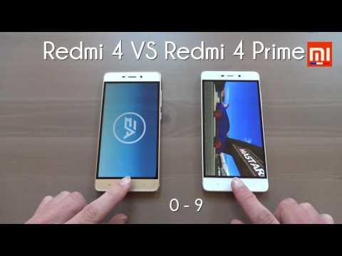 Test Xiaomi : RedMi 4 Vs RedMi 4 Prime (MIUI 8 : Battery, Benchmark, Speed...)