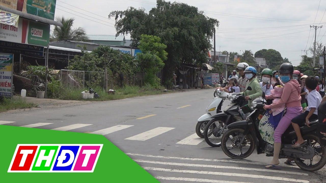 Những vụ tai nạn thương tâm trước cổng trường | Câu chuyện giao thông | THDT