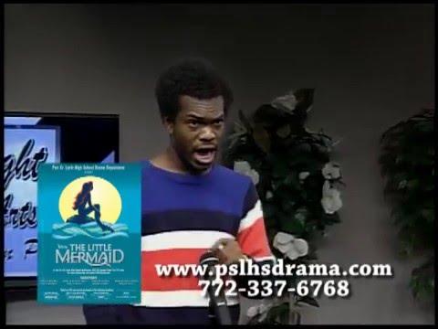 Port St Lucie High School Drama - Disney's The Little Mermaid Promo 2016