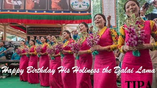 Birthday Song - His Holiness the Dalai Lama's 80th Birthday, 2015