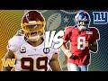 Washington Football Team vs New York Giants 9/16/21 NFL Pick and Prediction NFL Week 2 Picks
