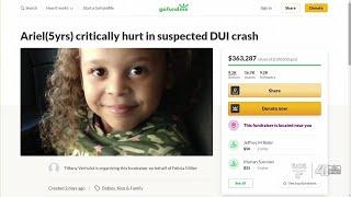 Donations For Girl Injured In Britt Reid Crash Surpass $350,000