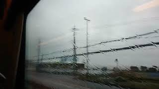 《車窓》山陰本線 特急スーパーまつかぜ7号 米子~出雲市
