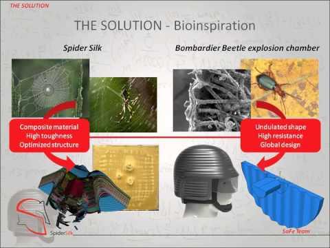 Spider Silk: inspired super-tough nanoarmors