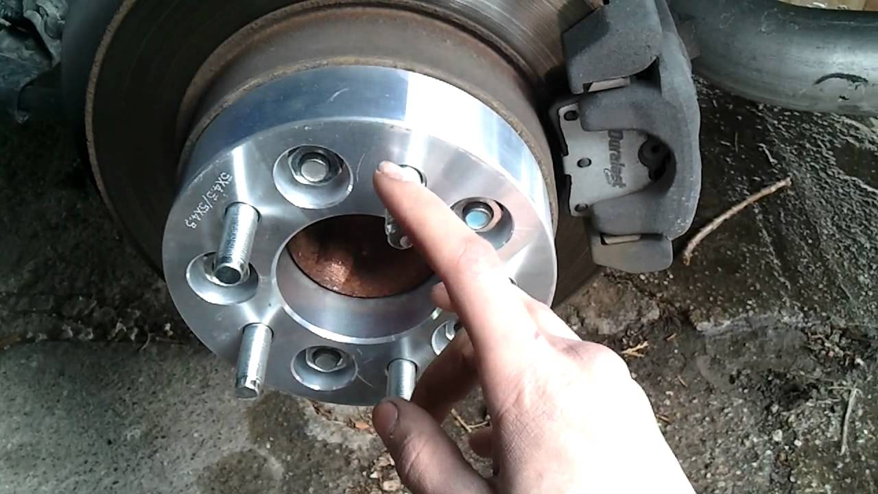How To Install Wheel Spacers Youtube
