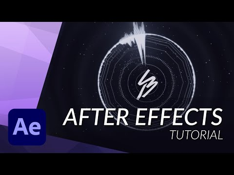 How To Create an Amazing Audio Visualizer in Adobe After Effects Tutorial