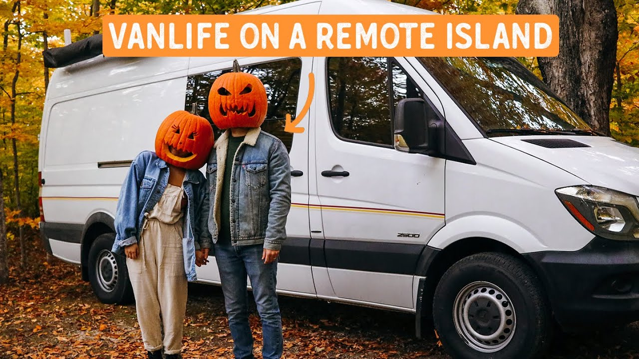 VANLIFE on a REMOTE ISLAND during the PANDEMIC