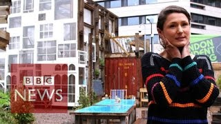 'my Greenhouse Made Of Sash Windows' Bbc News