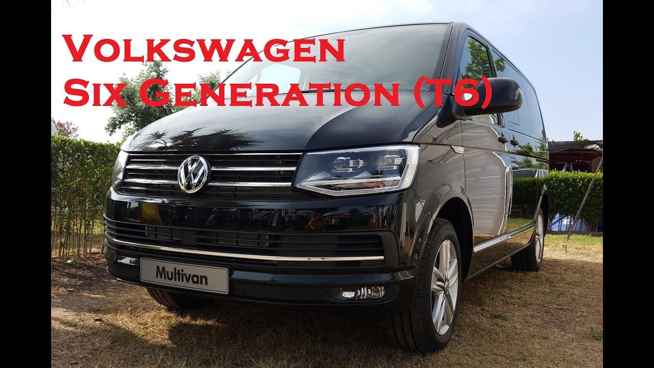 volkswagen six generation t6 multivan caravelle transporter 2015 2016 youtube. Black Bedroom Furniture Sets. Home Design Ideas