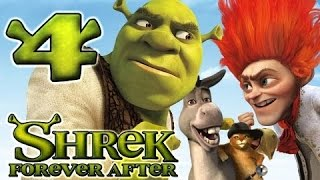 Shrek Forever After Walkthrough Part 4 (PS3, X360, Wii, PC) - Dragon