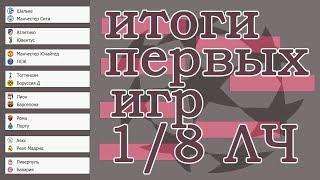 Футбол. Лига Чемпионов 2019. Итоги 1/8 плей - офф. Результаты. Расписание. Атлетико – Ювентус.