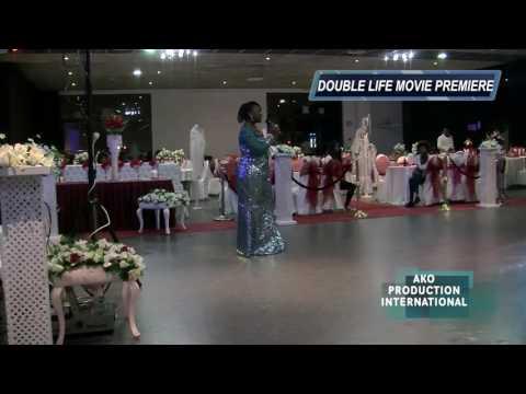 DOUBLE LIFE 1 & 2  LAUNCHING ANTWERPEN BELGIUM/CAMEROONIAN MOVIE