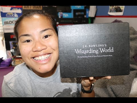 2017 July JK Rowling's Wizarding World Unboxing - [Defense Against The Dark Arts]