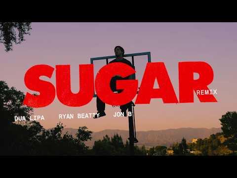 """Brockhampton """"SUGAR"""" Remix (feat. Dua Lipa, Ryan Beatty & Jon B) [VISUALIZER]"""