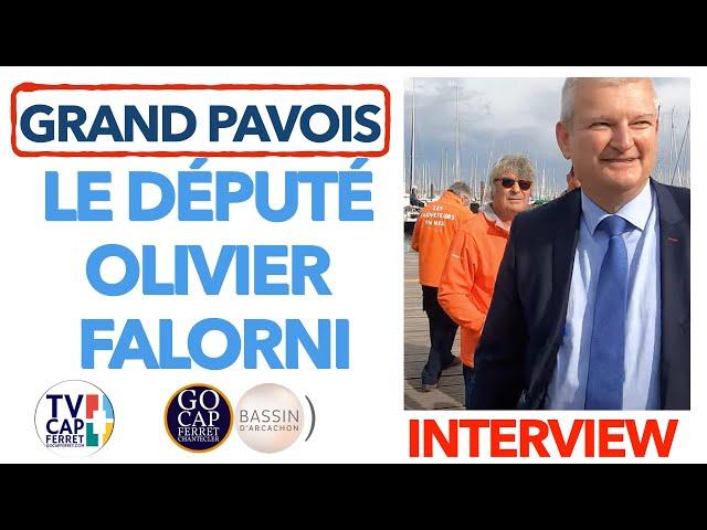 Grand Pavois La Rochelle 2021 #1 Interview d'Olivier FALORNI - Le député nous parle de la SNSM