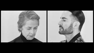 The Givenchy Spring Summer 2020 Campaign starring Charlotte Rampling and Marc Jacobs