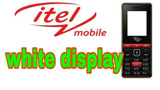 Download Video/Audio Search for itel 2090 white screen