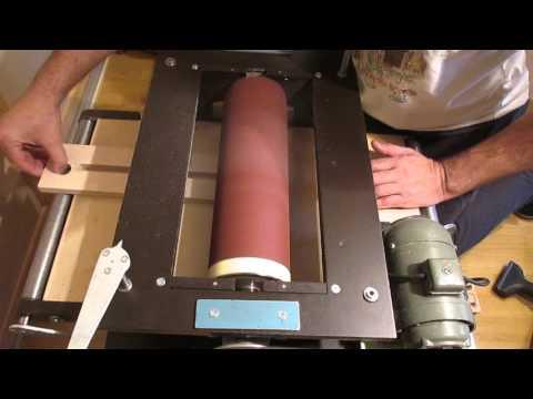 Шлифовальный станок(  пробный пуск )