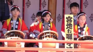 鴻神社(埼玉県・鴻巣市) 初詣風景[2] 昼    平成二十九年元旦