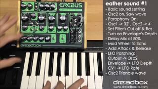 Dreadbox EREBUS demo