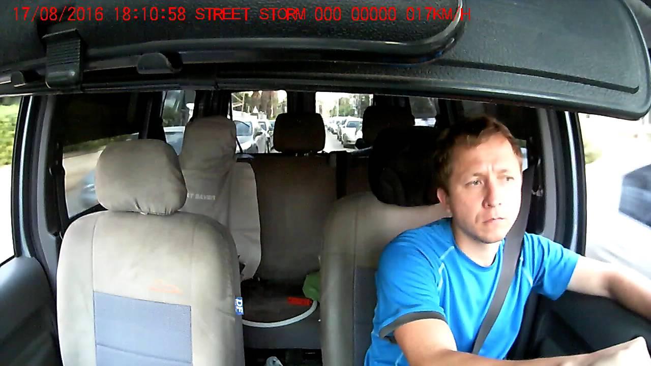 Street Storm CVR-A7620-G установка в автомобиле - YouTube