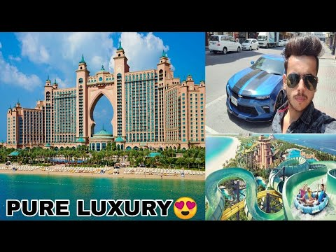My STAY In Most Luxury Resort In DUBAI – ATLANTIS PALM😍.FULL WALKAROUND AND OVERVIEW.India To Dubai
