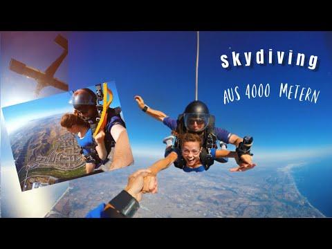 Fallschirmsprung Aus 4000 METERN // Charlene Sabrina