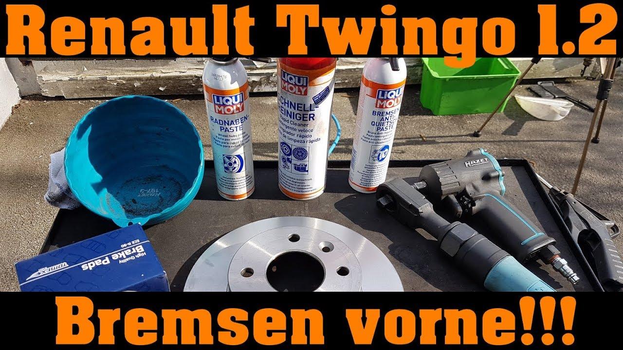 Renault Twingo 1.2 Belüftete Bremse Bremsscheiben Bremsbeläge vorne**