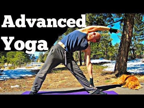 20 Min Yoga For Men Advanced Strength Workout - Killer Power Yoga For All! #yogaformen #poweryoga