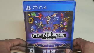 Sega Genesis Classics Unboxing (List of Games in Description) PS4