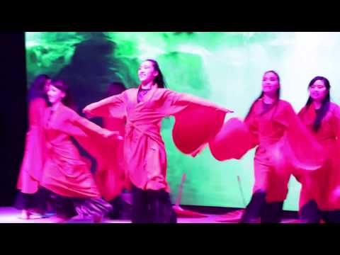 "中国汉服伞舞+旗袍爵士 Han Chinese clothing""Hanfu"" Umbrella & Cheongsam Dance"