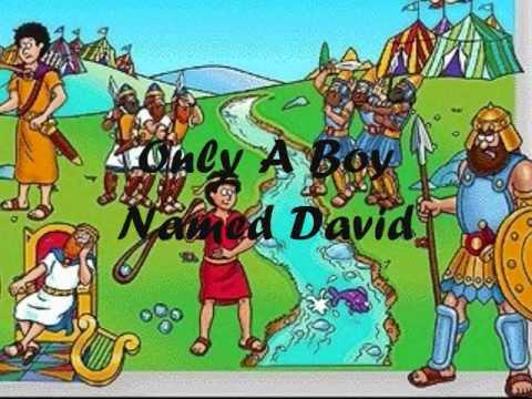 Only A Boy Named David  (With Lyrics)
