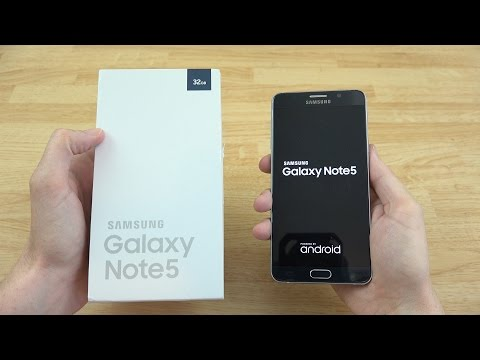 Samsung Galaxy Note 5 Unboxing!