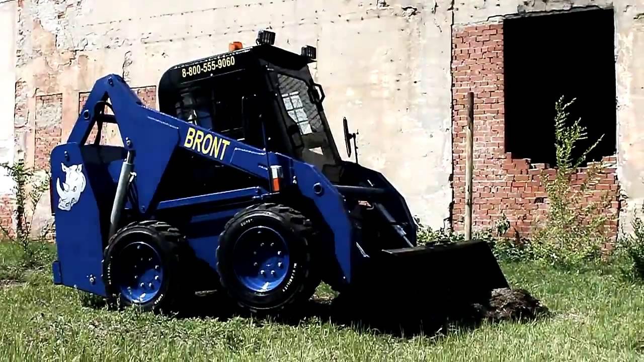 Download Фронтальный мини погрузчик BRONT 1500Z 1000