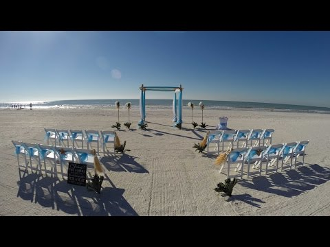 FLORIDA GULF BEACH WEDDINGS - TIME LAPSE