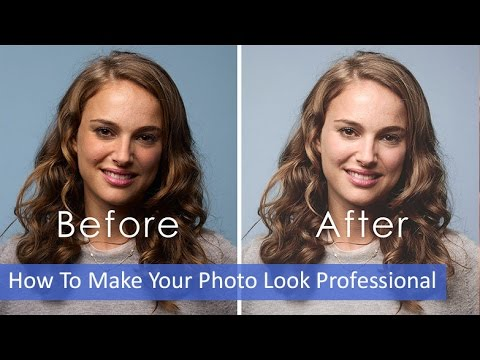 Photoshop: How To Make Your Photo Look Professional