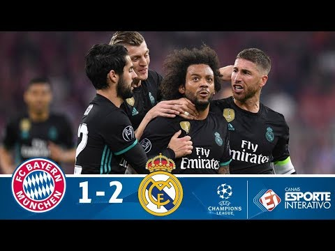 Bayern de Munique 1 x 2 Real Madrid - Melhores Momentos - Champions League (25/04/2018)