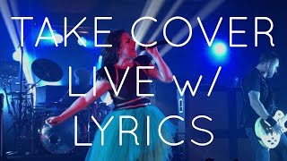 Evanescence - Take Cover (Live) NEW SONG 2016 w/LYRICS