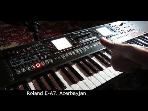 Roland E-A7 - Azerbaijan Azeri Кавказ style.