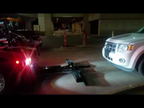Parking Garage Towing For Low Clearance Garages in Dallas Texas