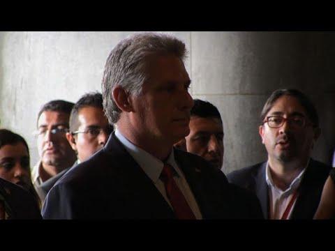 ARCHIVES: Miguel Diaz-Canel le nouveau président de Cuba