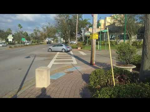 Walking around Downtown Cape Coral, Florida
